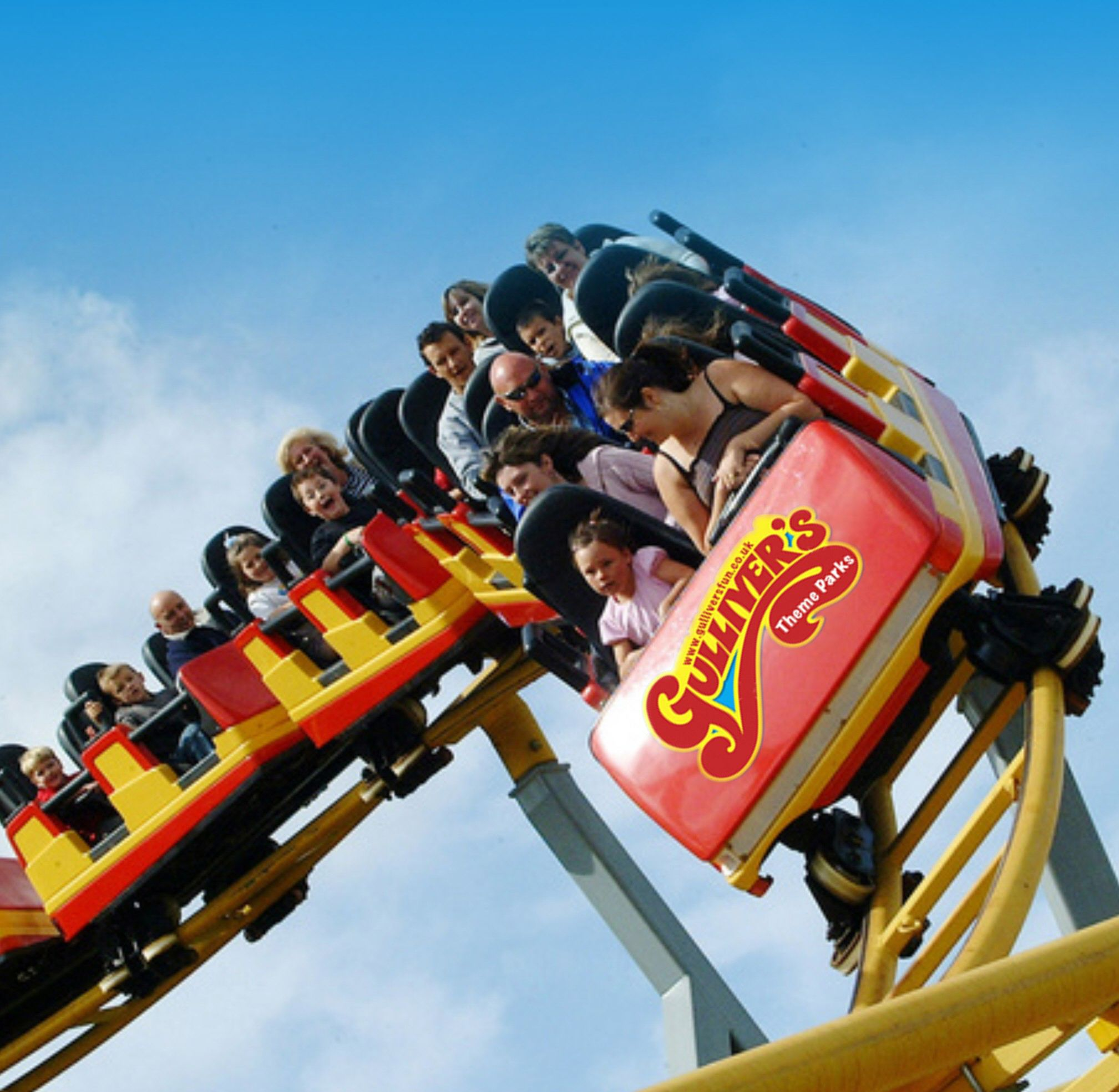 Gullivers Kingdom - Roller Coaster