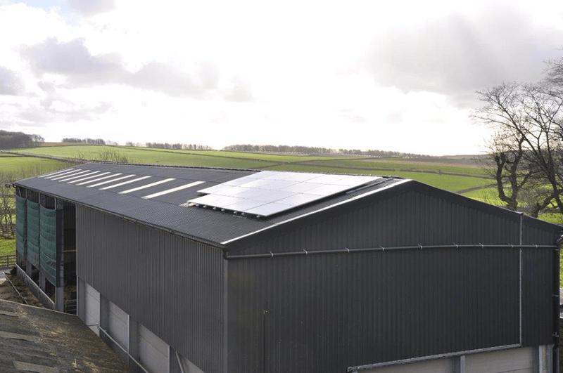 Endmoor Farm goes green