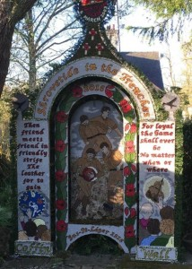 Well Dressing in Derbyshire