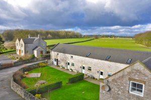 endmoor farm cottages aerial