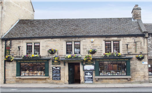 The Original Bakewell Pudding Shop places to eat in the Peak District during your stay with us
