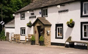 Dog Friendly Restaurants in the Peak District the Anchor Inn