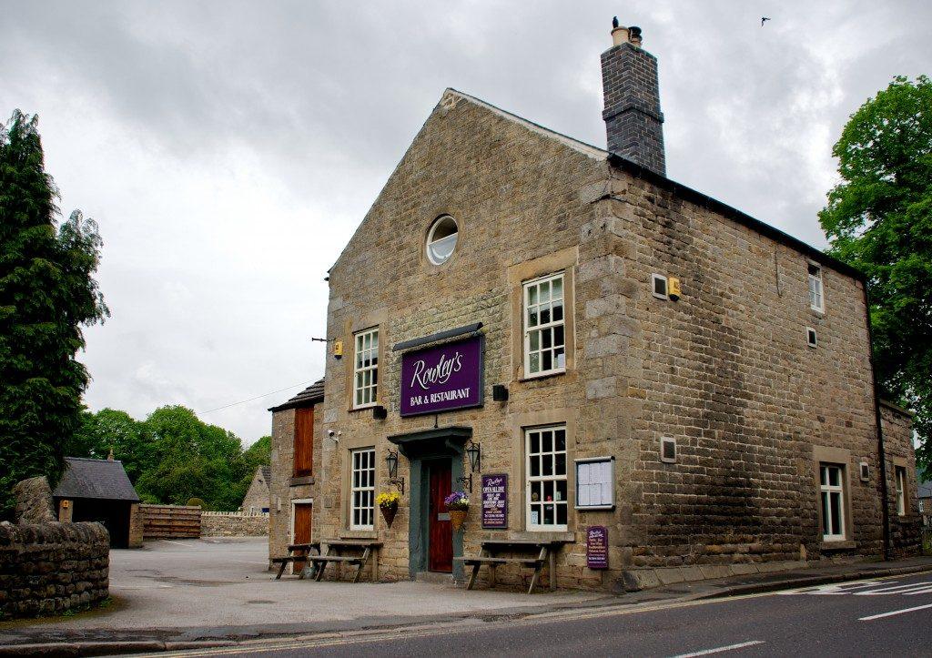 Dog Friendly Restaurants in the Peak Dsitrict Rowleys restaurant and bar rowleys village pub