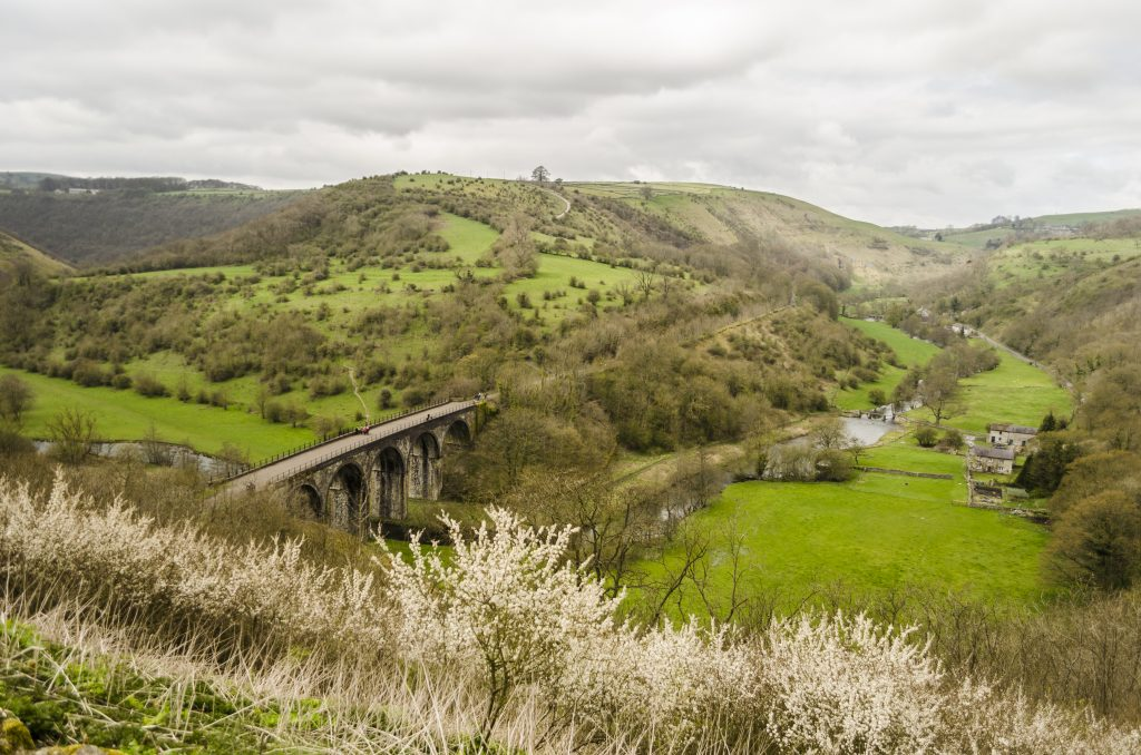 Monsall Head best scenic drives to take in the Peak District