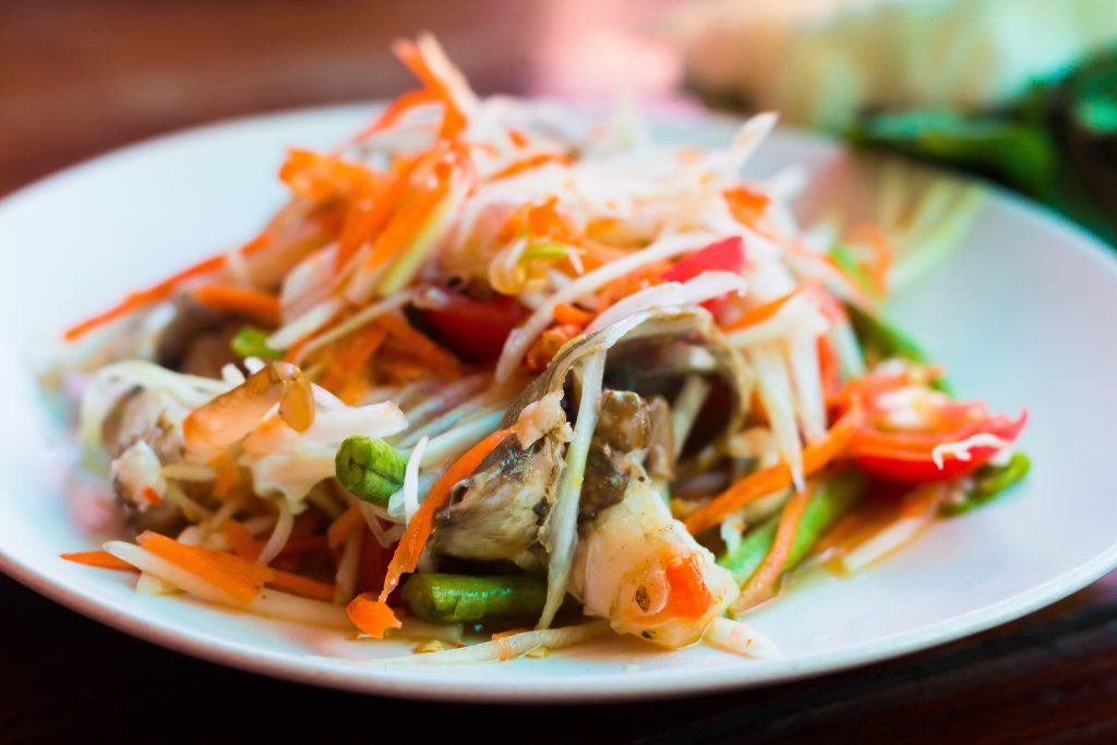 Simply Thai, most romantic restaurants in the Peak District