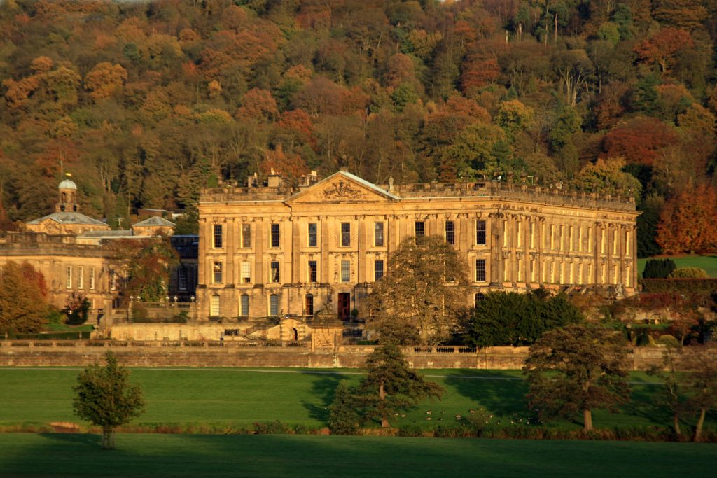 Chatsworth House for for Mothers Day afternoon tea