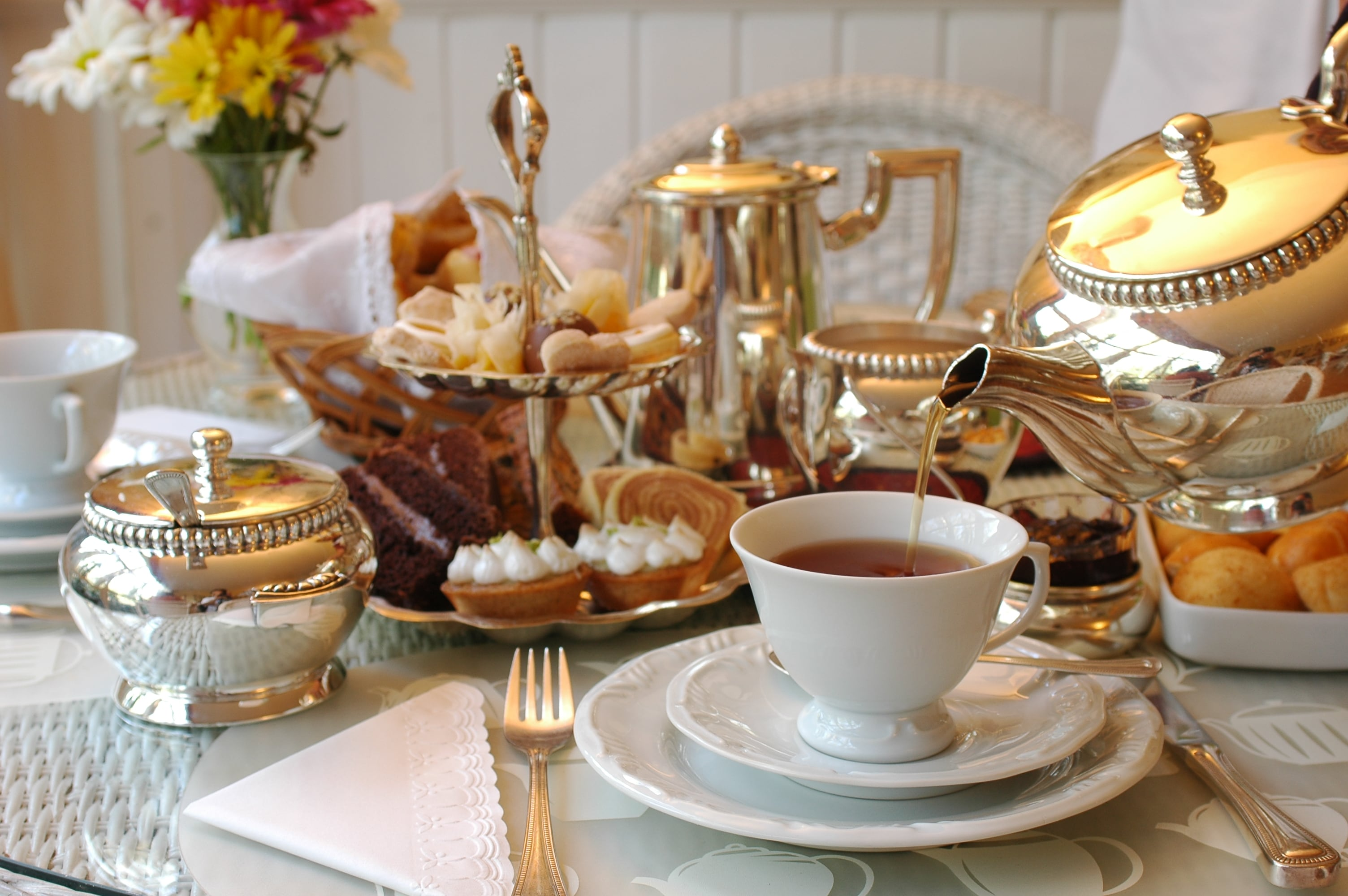 Edensor Tea Cottage for Mothers Day afternoon tea