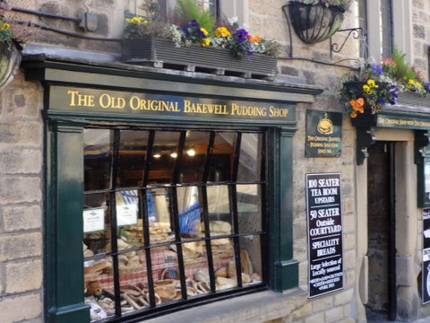 Bakewell Pudding shop, Peak District