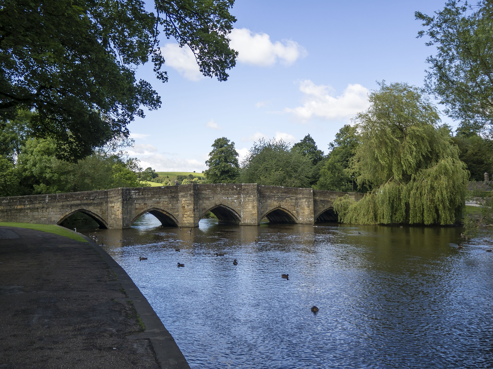 Bakewell Bridge, Peak District